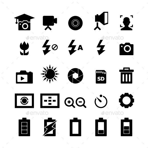 Photography Icon - Media Icons