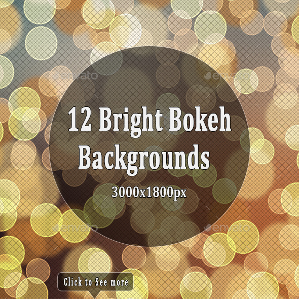 Bright Bokeh Backgrounds - Backgrounds Graphics
