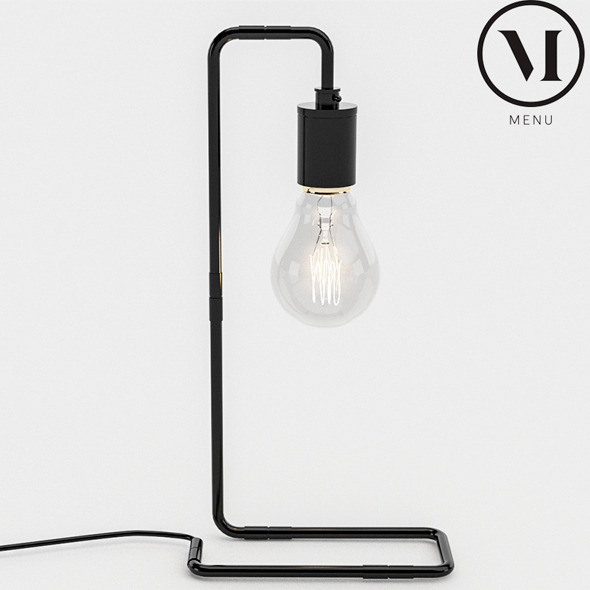 Menu Tribeca Table Lamp - 3DOcean Item for Sale