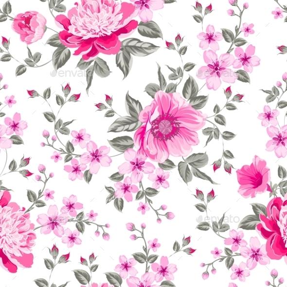 Peony Pattern - Flowers & Plants Nature