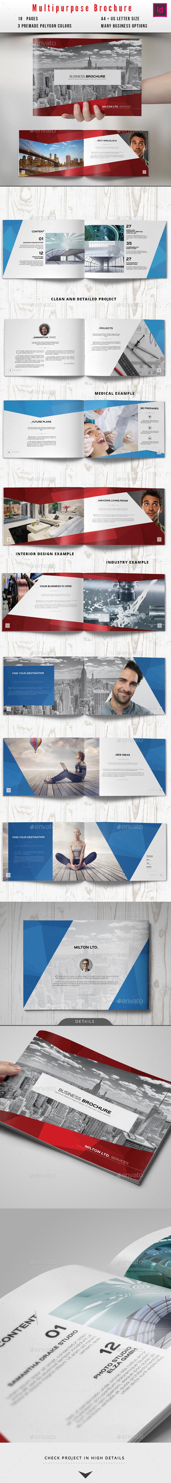 Multipurpose Business Catalog / Brochure - Corporate Brochures