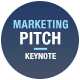Marketing Slide Pitch Deck Keynote Template - GraphicRiver Item for Sale