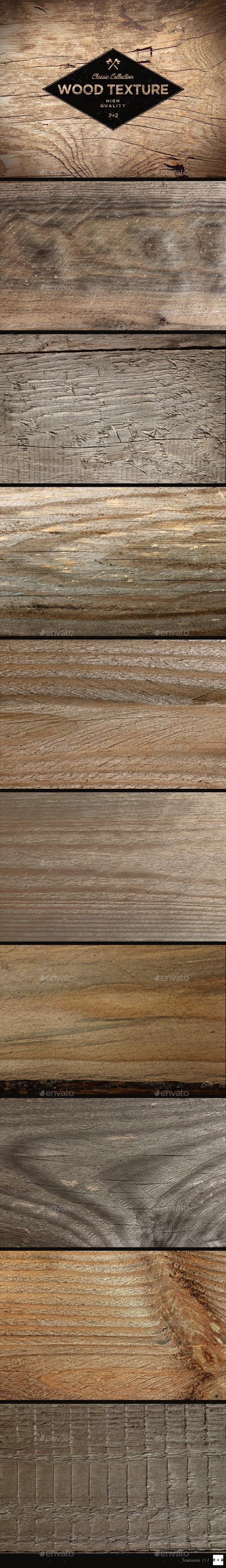 10 Wood Textures - Wood Textures