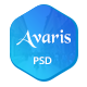 Avaris | Multipurpose PSD Template - ThemeForest Item for Sale