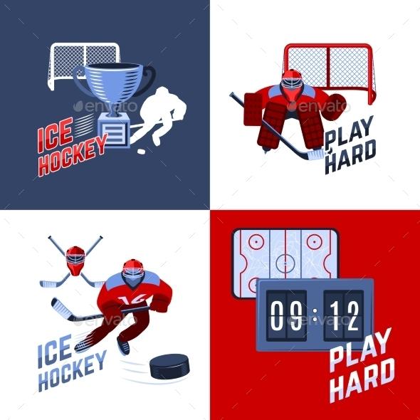 Hockey Design Concept - Sports/Activity Conceptual