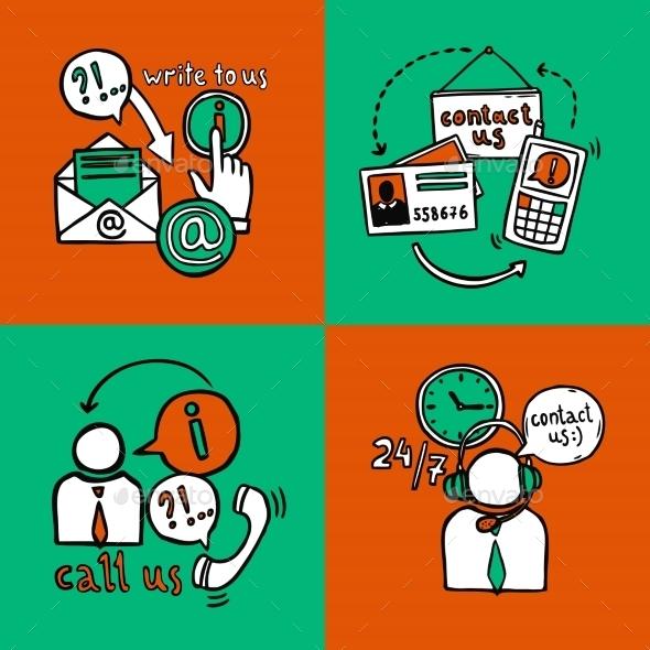 Contact Us Design Concept - Business Conceptual