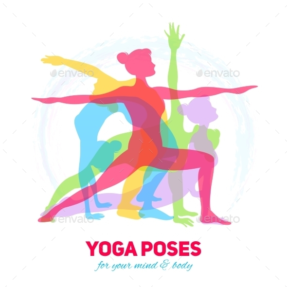 Yoga Fitness Concept - Sports/Activity Conceptual