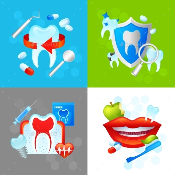 Dental Design Concept - Health/Medicine Conceptual