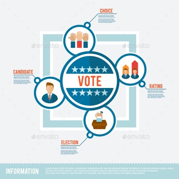 Election Flat Concept - Miscellaneous Vectors