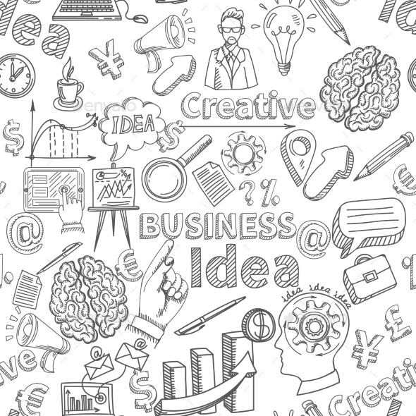 Creative Background Seamless - Backgrounds Business