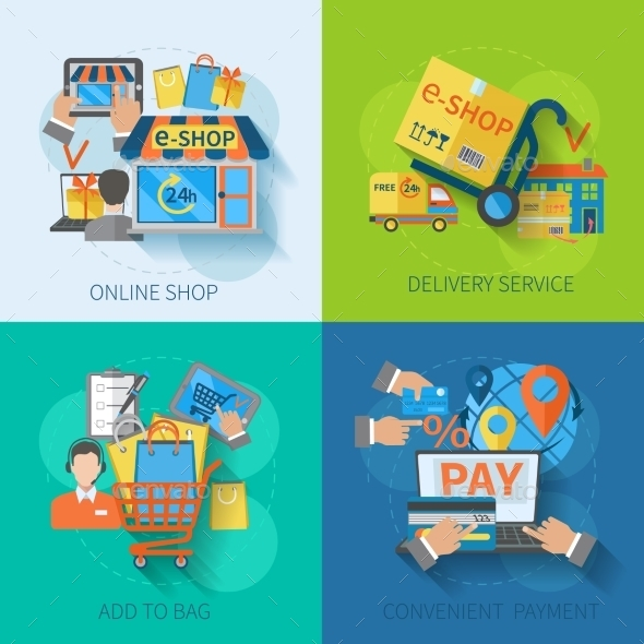 Shopping E-commerce Flat - Retail Commercial / Shopping