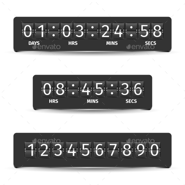 Countdown Timer Illustration - Miscellaneous Vectors