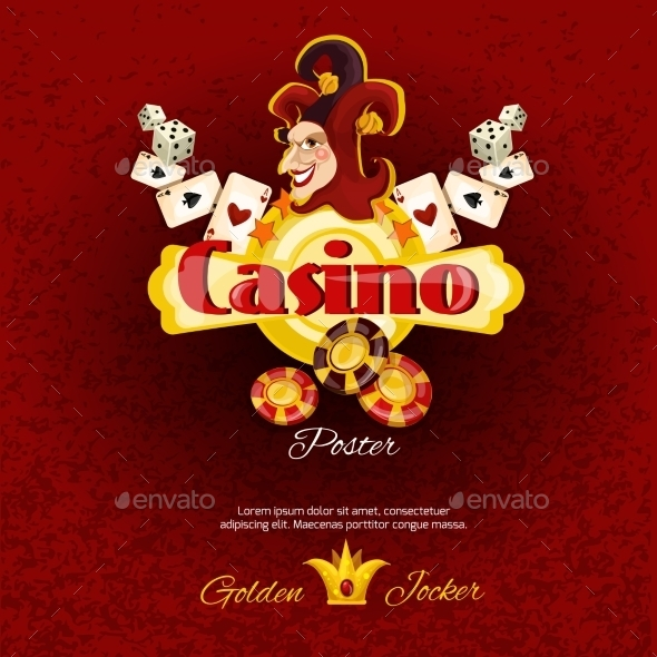 Casino Poster Illlustration - Backgrounds Business