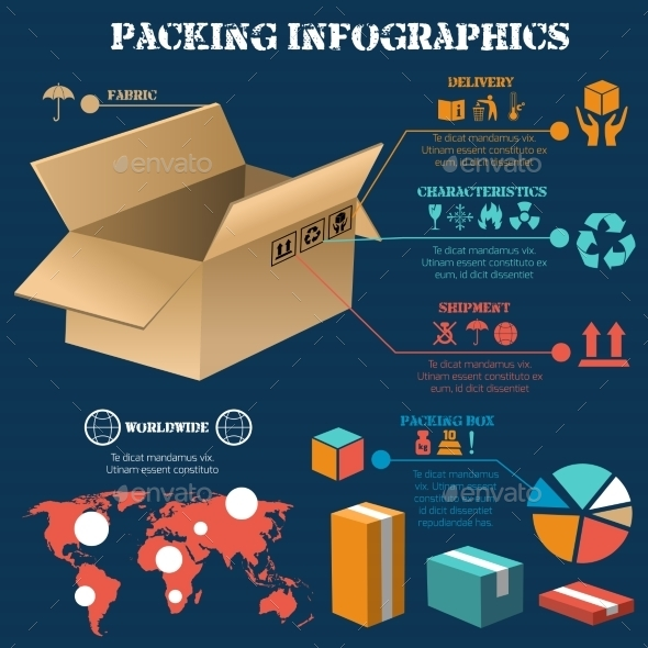 Packing Infographics Poster - Infographics