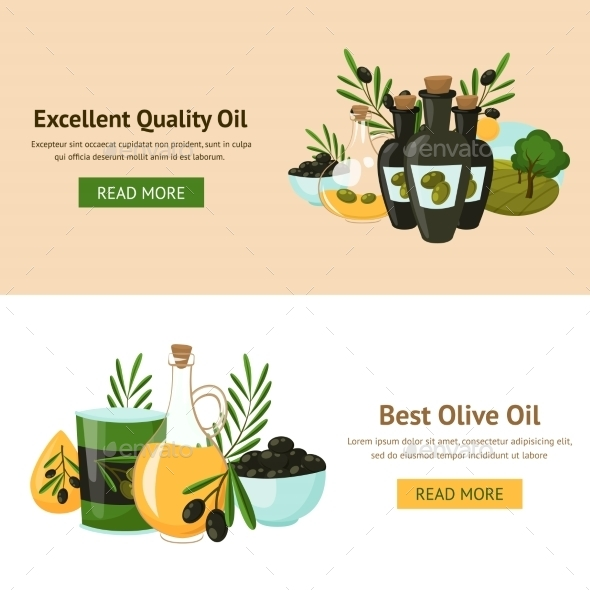 Olive Design Concept - Food Objects
