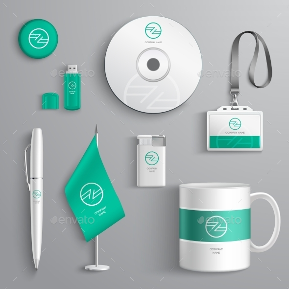 Corporate Identity Design - Business Conceptual