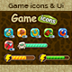 Game Icons & Ui Set - GraphicRiver Item for Sale