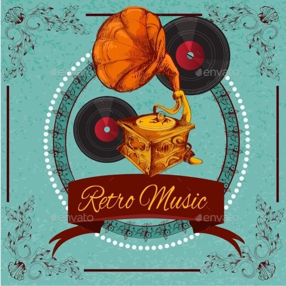 Retro Music Poster - Retro Technology