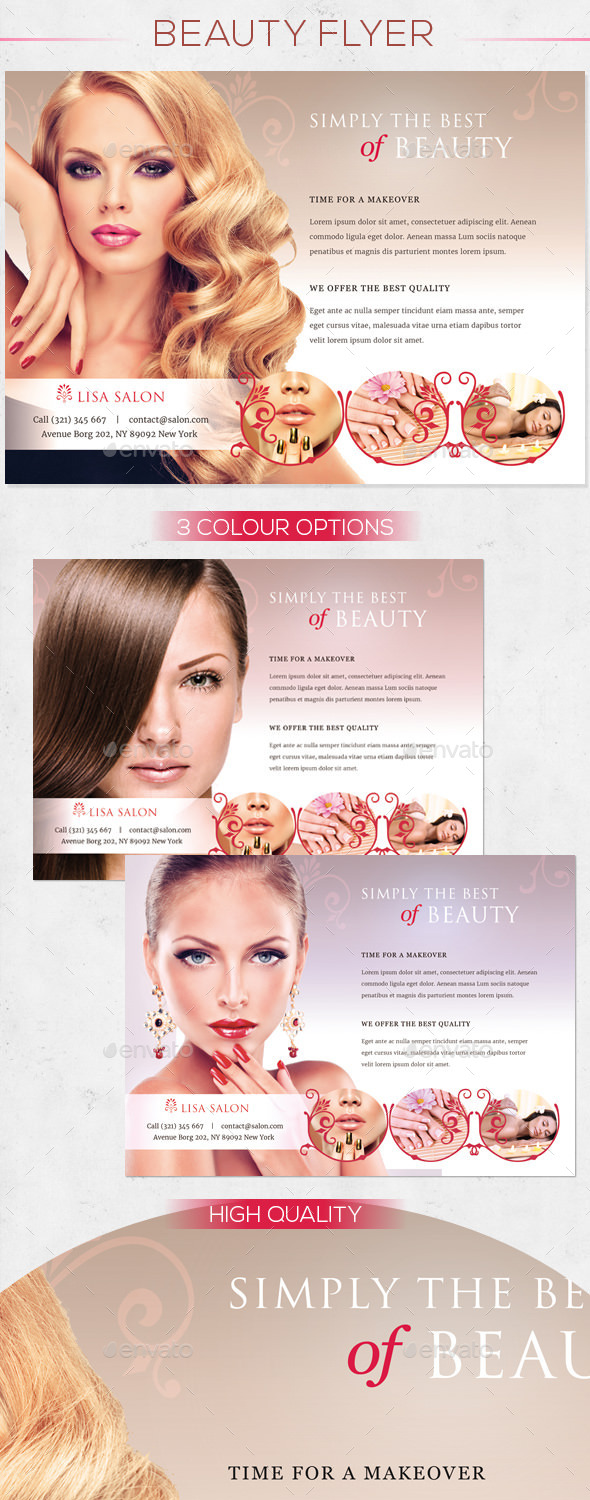 Premium Beauty Flyer - Commerce Flyers
