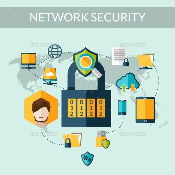 Network Security Concept - Technology Conceptual