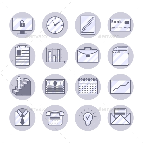 Business Icons Set - Business Icons