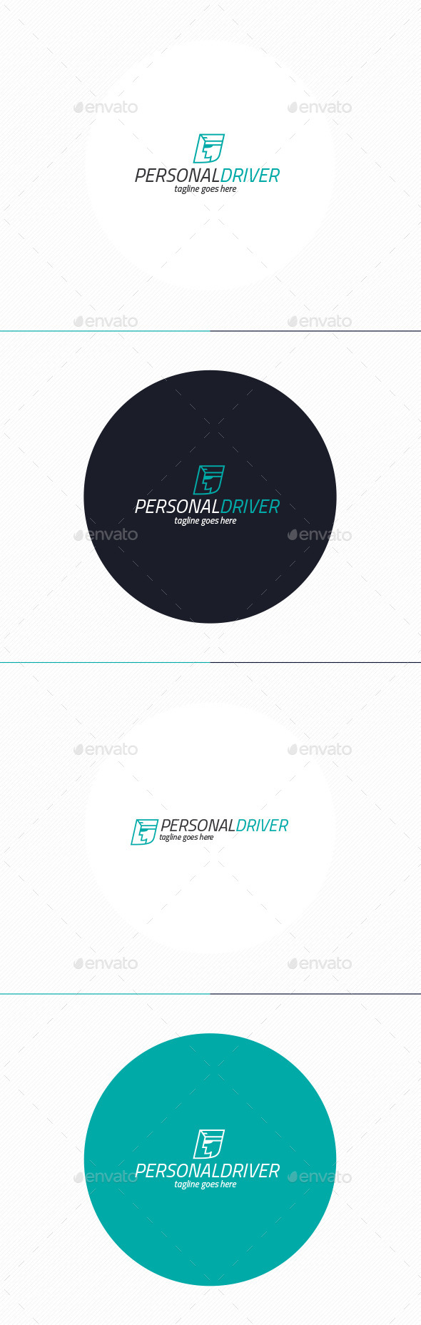 Personal Driver Logo - Humans Logo Templates