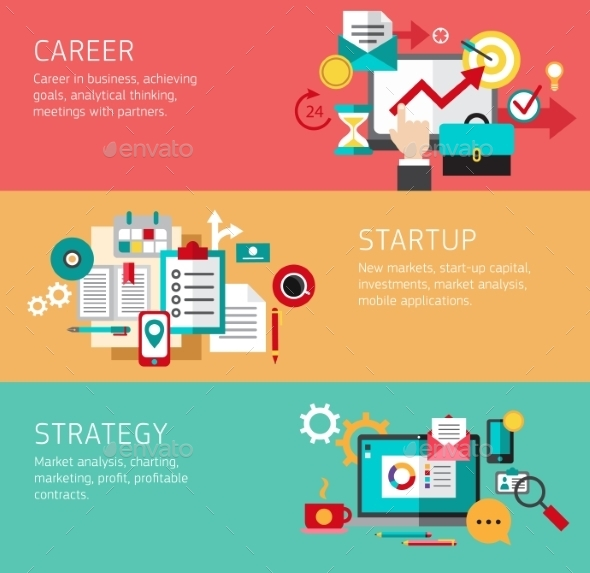 Start Up Concept - Web Technology