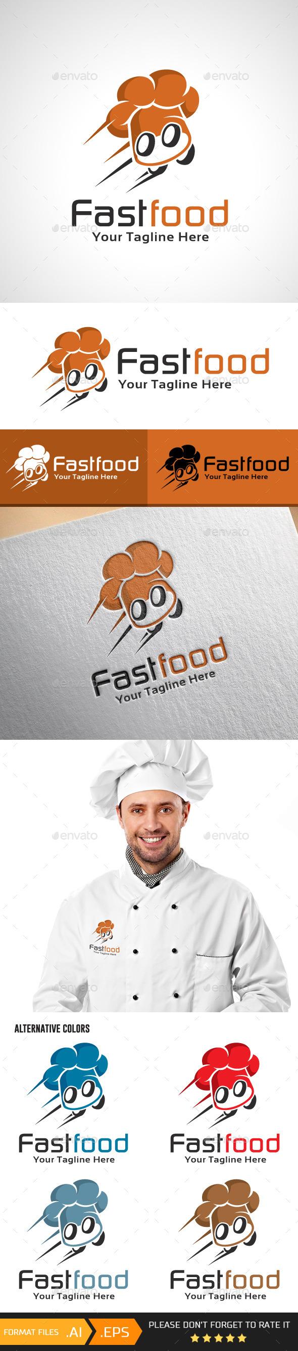 Fastfood Logo Template - Food Logo Templates