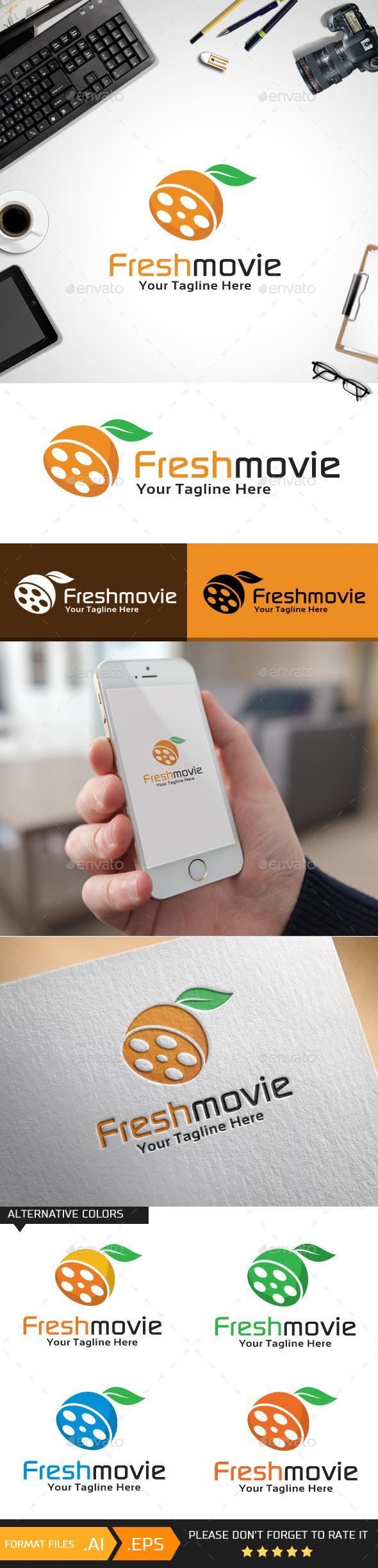 Freshmovie Logo Template - Objects Logo Templates