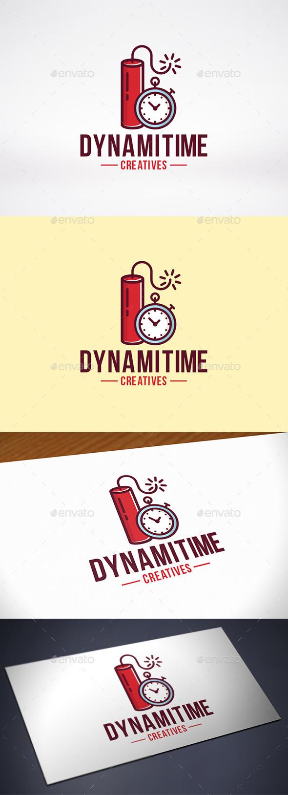 Dynamite Time Logo Template - Symbols Logo Templates