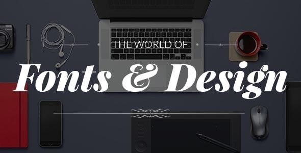 Fonto – Typography Portfolio / WooCommerce Theme