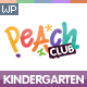 PeachClub | Kindergarten ChildCare WordPress Theme Nulled
