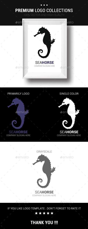 Sea Horse - Animals Logo Templates