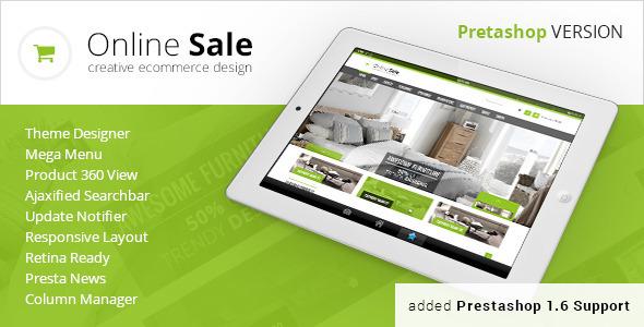 OnlineSale – Premium Prestashop Theme