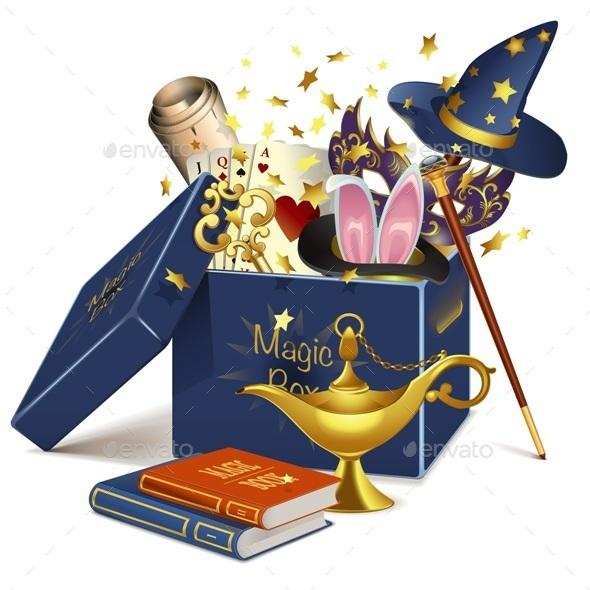 Vector Magic Box - Seasons/Holidays Conceptual