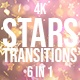 Christmas Stars Transitions - VideoHive Item for Sale