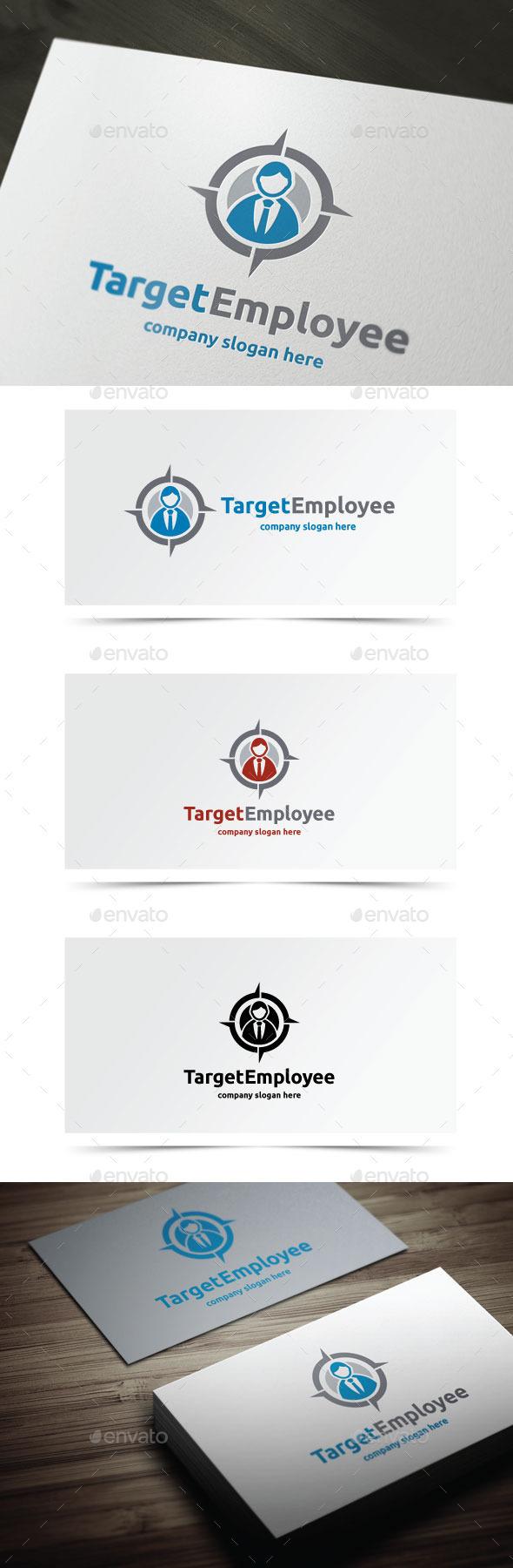 Target Employee - Humans Logo Templates