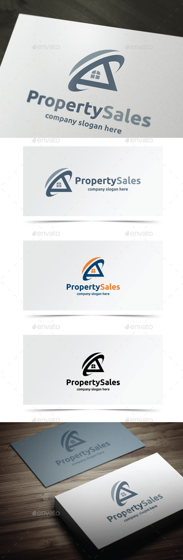 Property Sales - Buildings Logo Templates
