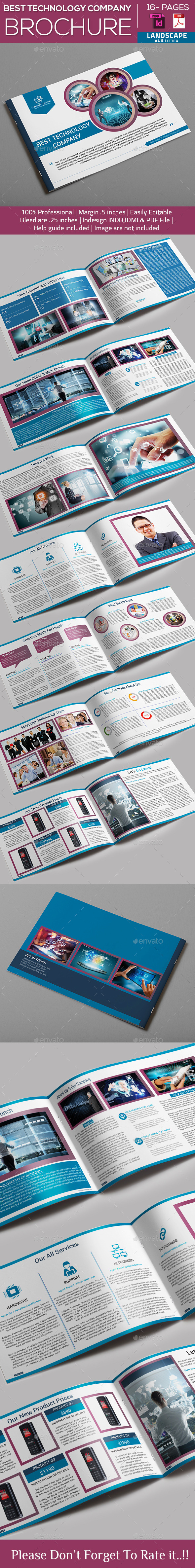 Technology Company Brochure - Catalogs Brochures
