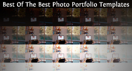 Best Of The Best Photo Portfolio Templates