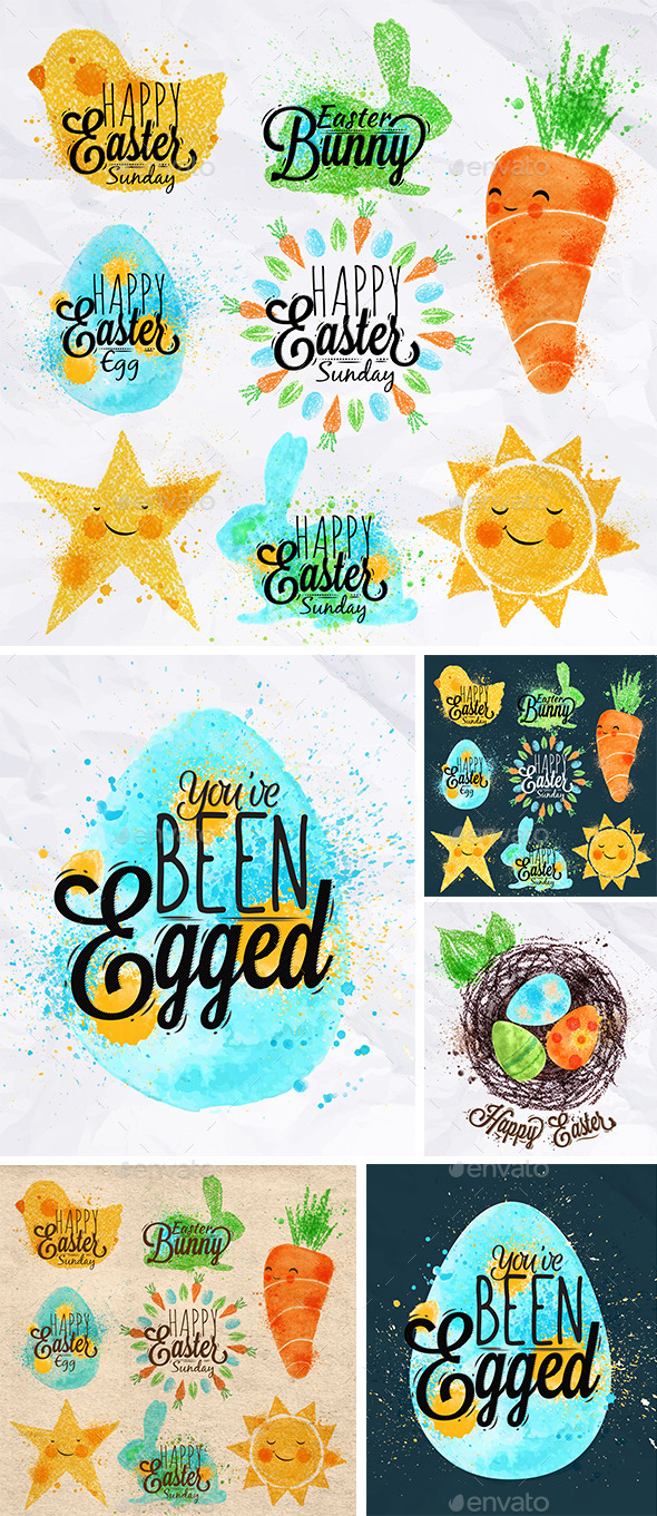 Easter Signs - Seasons/Holidays Conceptual