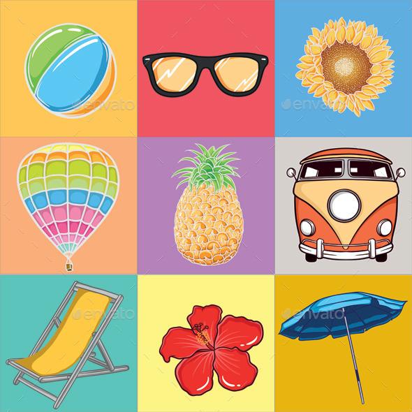Summer Vector  - Miscellaneous Seasons/Holidays