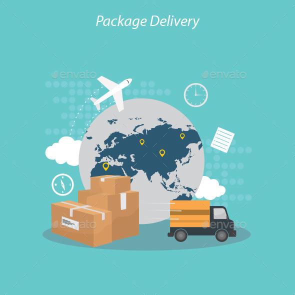 Package Delivery - Conceptual Vectors