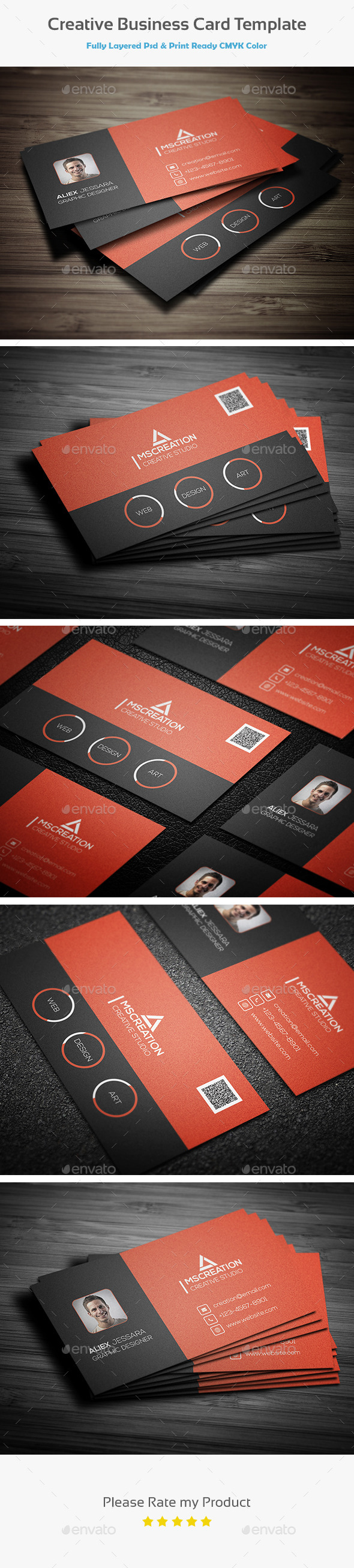 Creative Business card Template 3 - Creative Business Cards