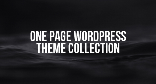 One Page WordPress Theme Collection