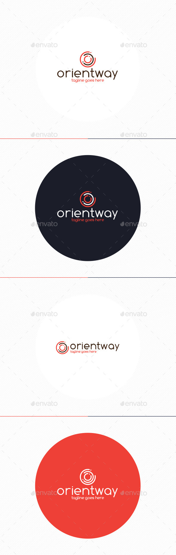 Orient Way Logo • Letter O - Letters Logo Templates