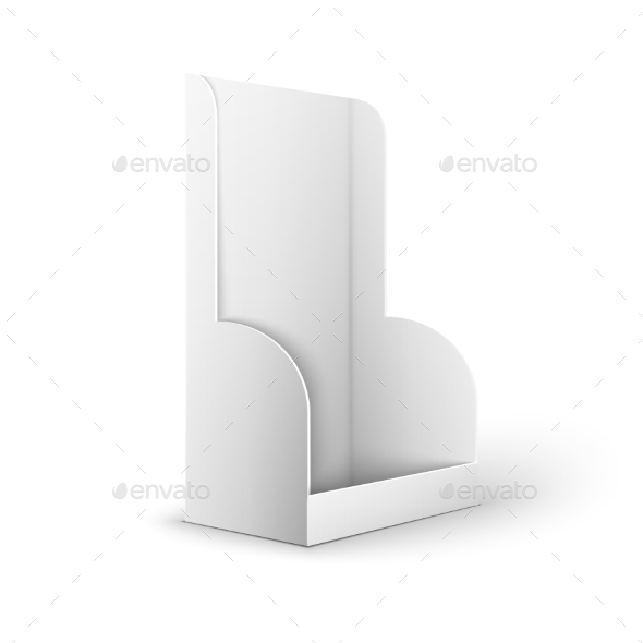Blank Holder Box - Retail Commercial / Shopping