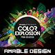 Color Explosion Flyer - GraphicRiver Item for Sale