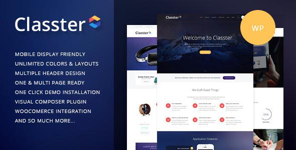 Classter | Multi-Purpose WordPress Theme - Miscellaneous WordPress