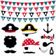Pirate Photo Booth Props and Scrapbooking Set - GraphicRiver Item for Sale